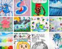 2020 WaterArt Calendar Winning Thumbnails