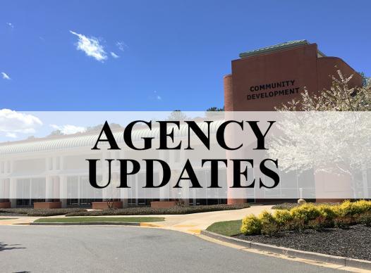 Community Development Updates
