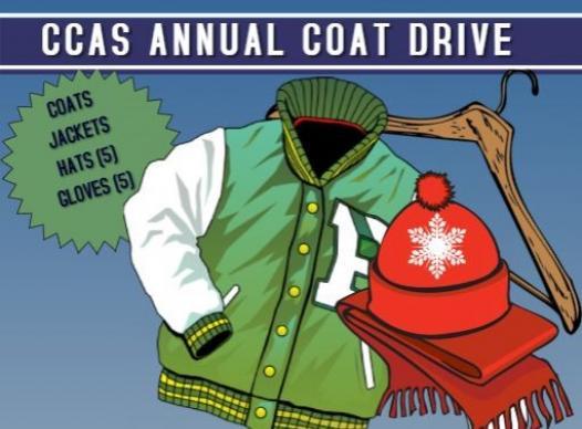 animal services, coat drive