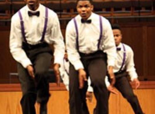 MLK celebration performance.