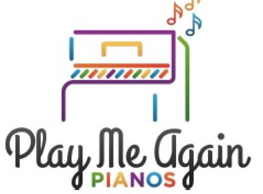 Play it again pianos logo