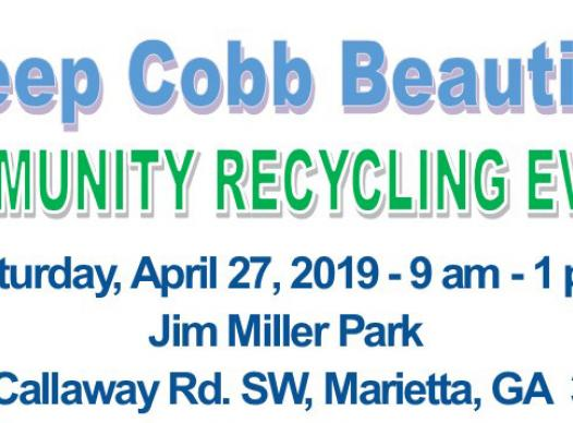 2019 Spring Community Recycling Event