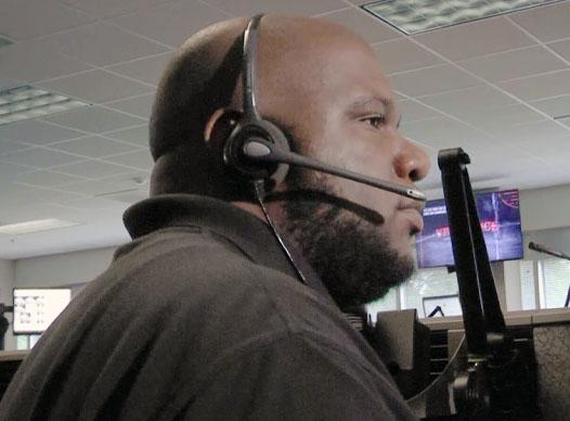Picture of E911 operator Desmond Harris