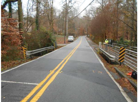 Picture of Woodland Brook Drive Bridge over Gilmer Creek