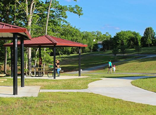 Mabry Park pavilions