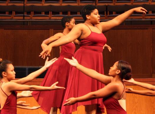 MLK Event Dancing