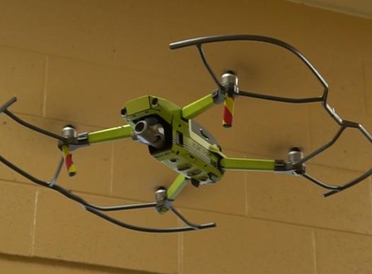 picture of drone in flight