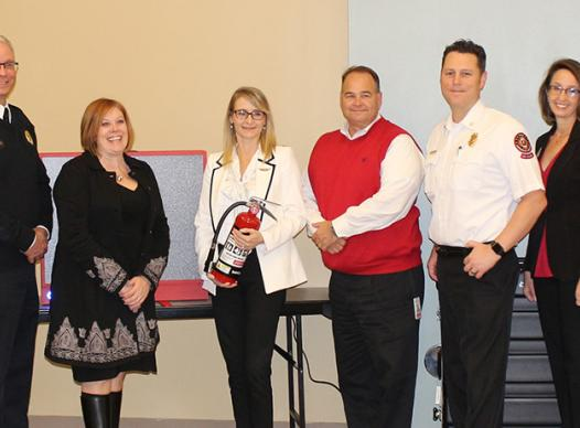 Firehouse Sub grant given at Safety Village
