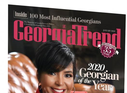 picture of Georgia Trend magazine