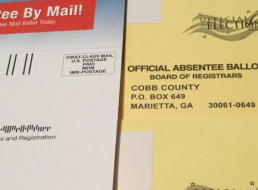 Voters over 60 mailed May 19th Absentee Ballot App