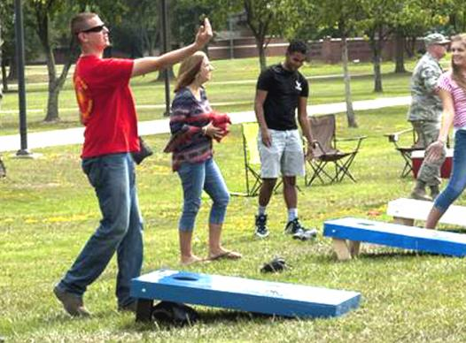 Corn Toss Game