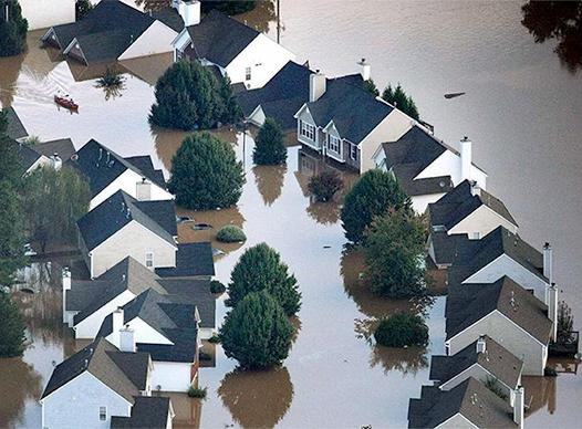 Historic Flood of 2009 in Cobb County