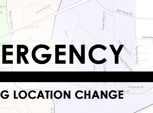 Emergency Polling Location Change image