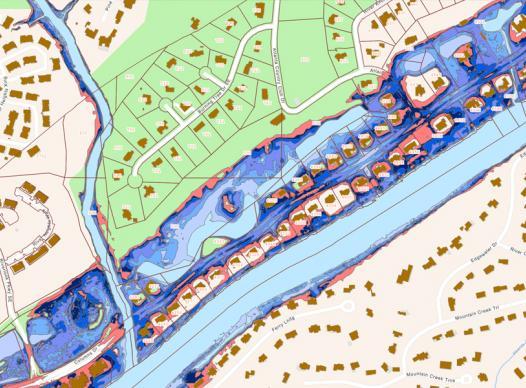 GIS Flood Map