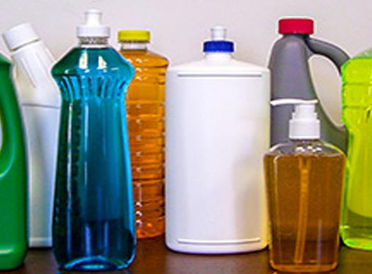 Household Cleaning Bottles