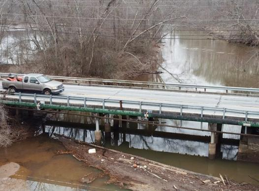 picture of the willeo road bridge