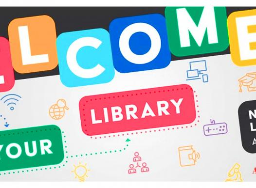 """National Library Week 2021 """"Welcome to Your Library"""" """"April 4-10, 2021"""""""