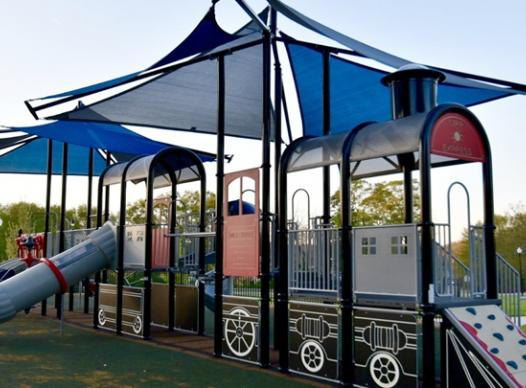 Photo of the playground at Mableton Town Square Park