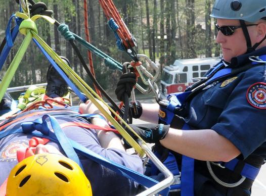 Fire Department Backboard Rescue