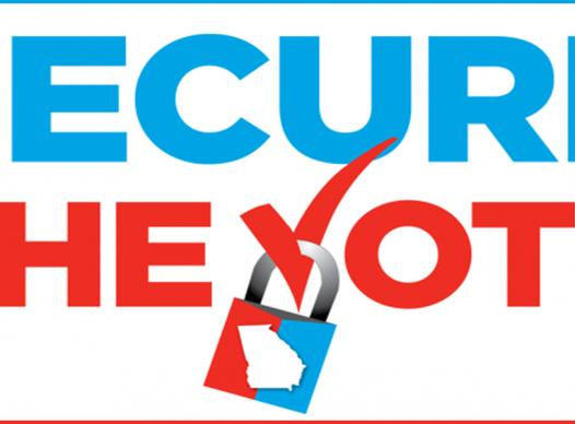 Secure the Vote logo
