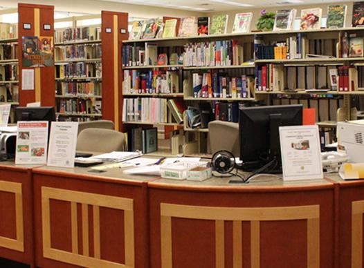 South Cobb Regional Library interior
