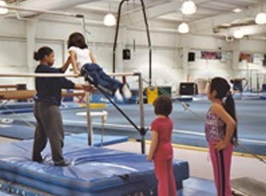Photo of Gymnastics Participants