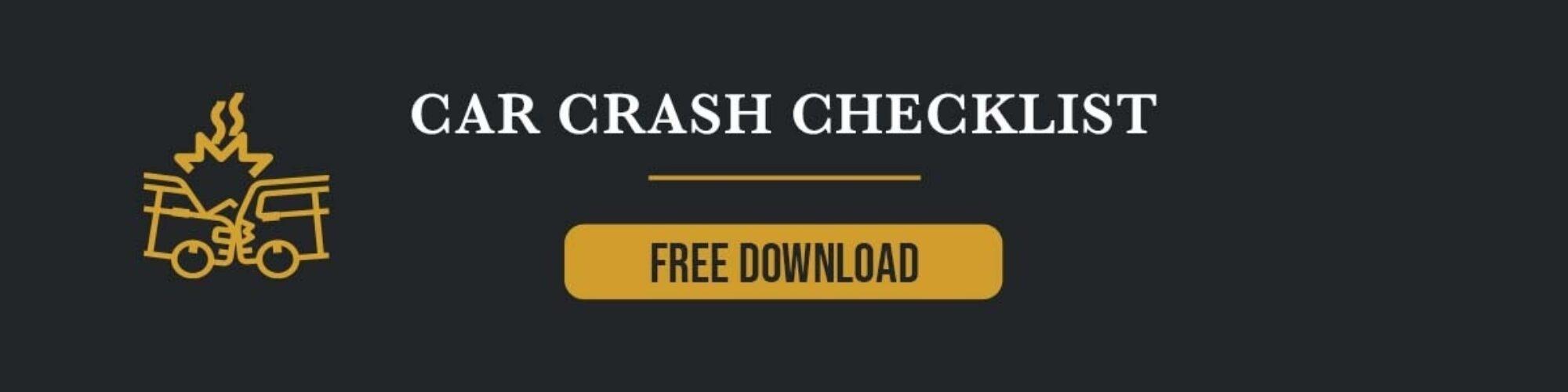 Car Crash Checklist CTA