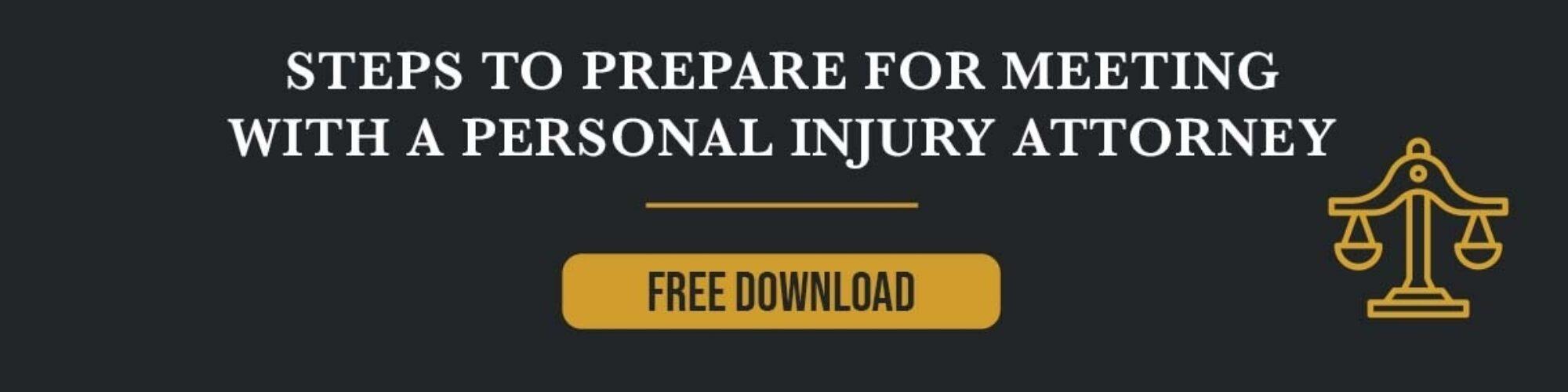 Personal Injury Steps CTA