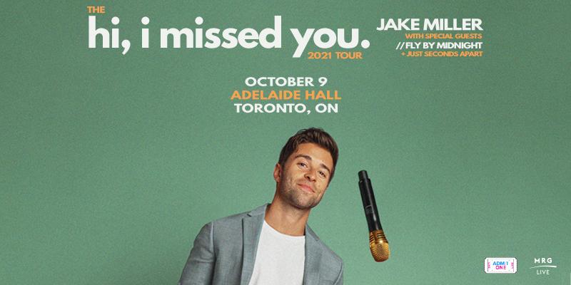 MRG Live Presents: Jake Miller
