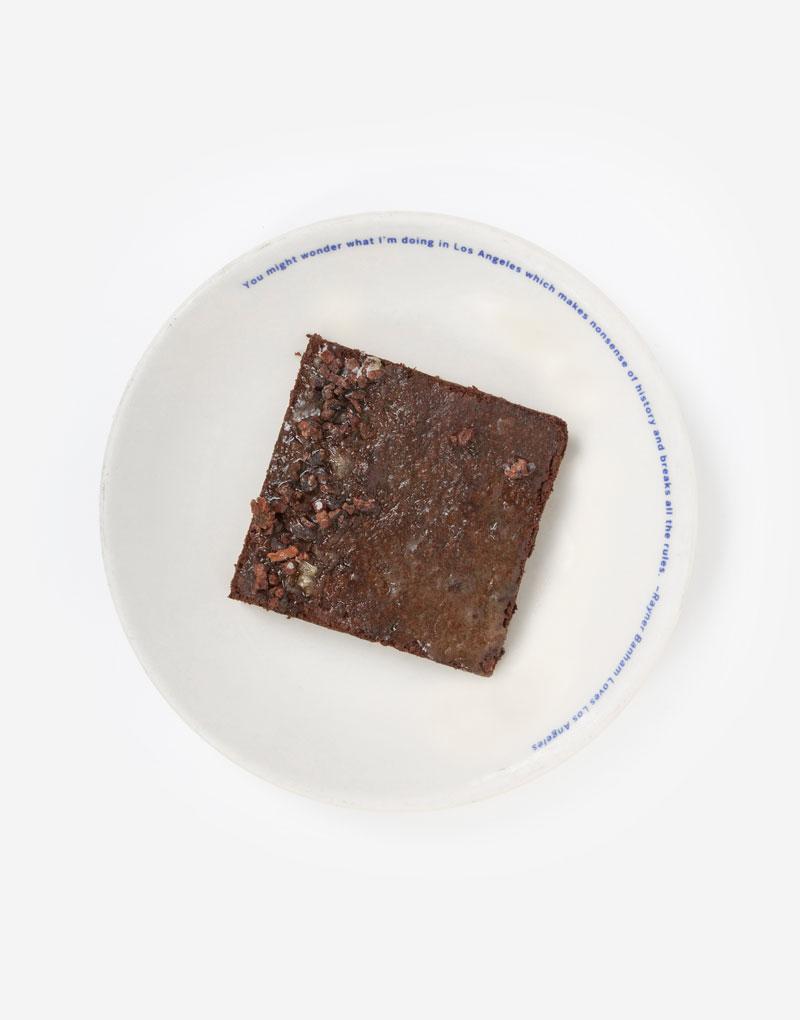 Whey-Caramel Brownie