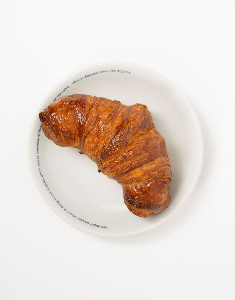 Butter Croissant w/ Apricot Syrup *hand-laminated