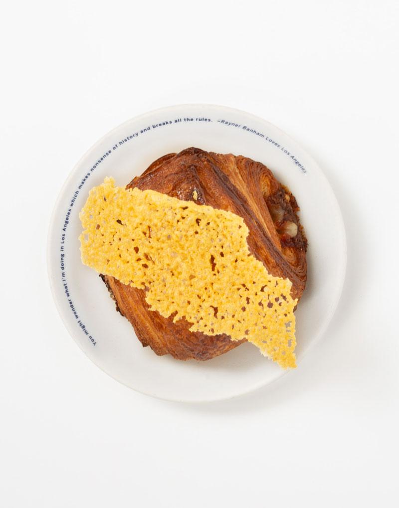 Ham, Comte, Tahini Mustard Croissant *hand-laminated