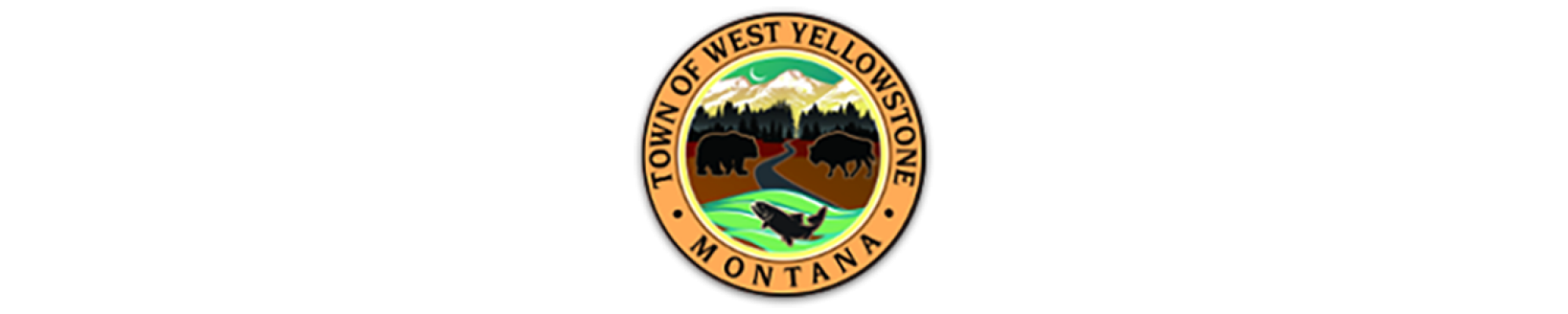 West Yellowstone logo c