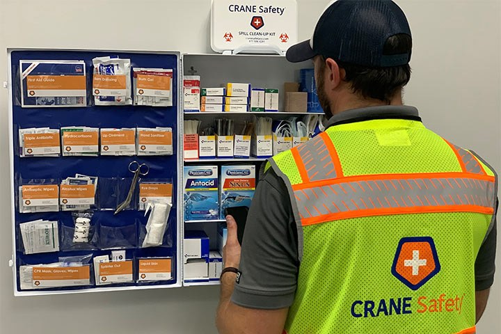 First Aid Cabinet Service Landscape