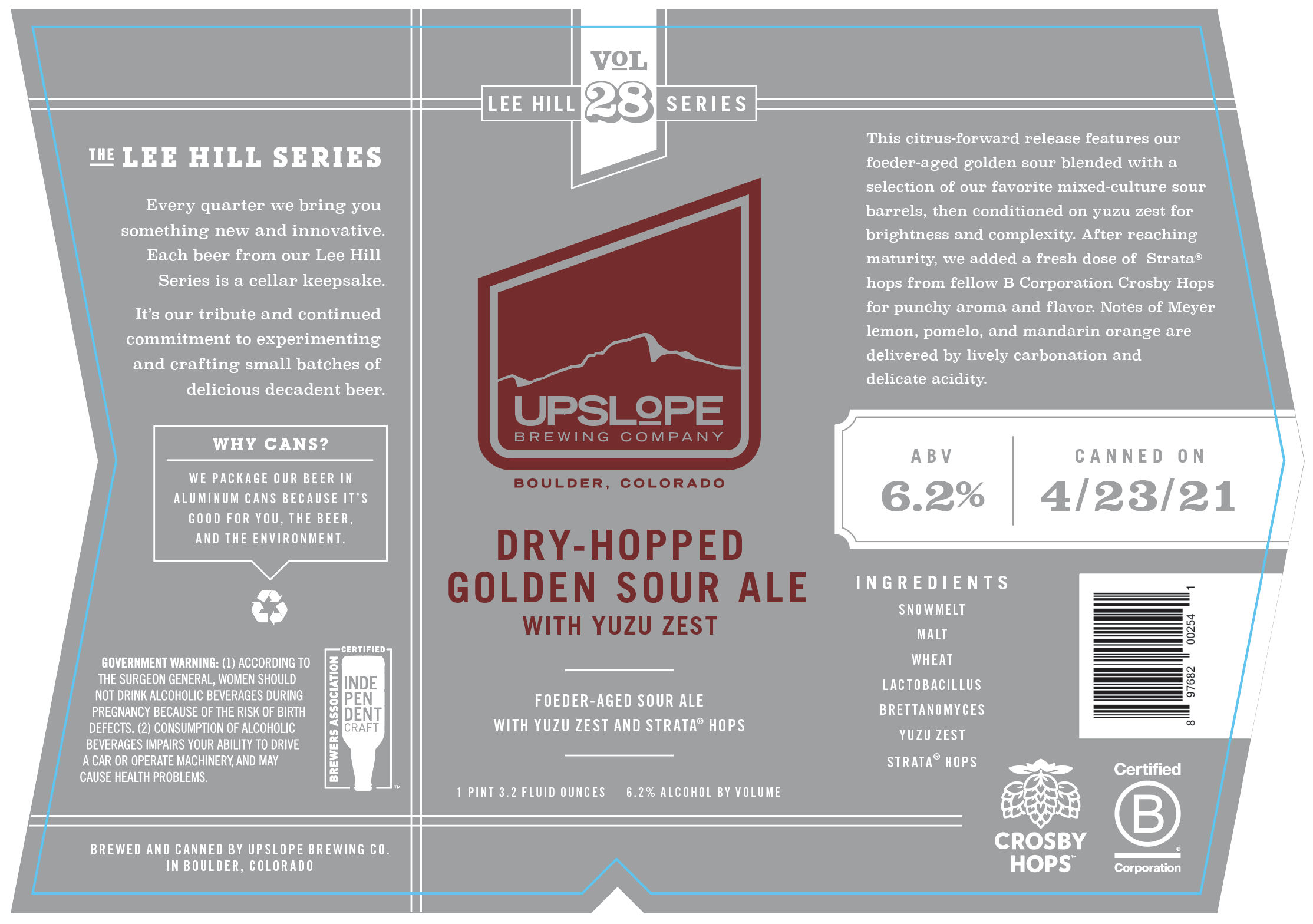 Upslope Collaboration Label
