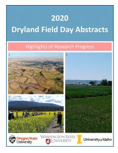 Front cover of 2020 Field Day Abstracts.