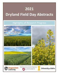 Cover for 2021 Field Day Abstracts.