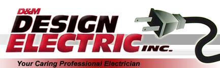 Design Electric Inc. logo