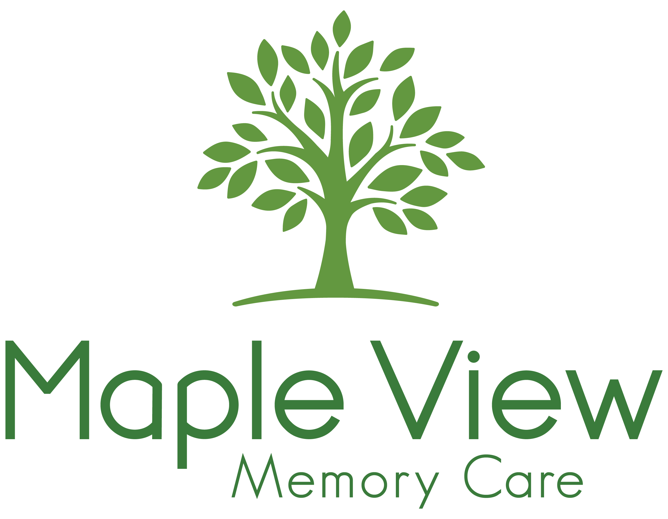 Maple View Memory Care logo