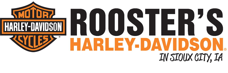 Rooster's Harley Davidson logo