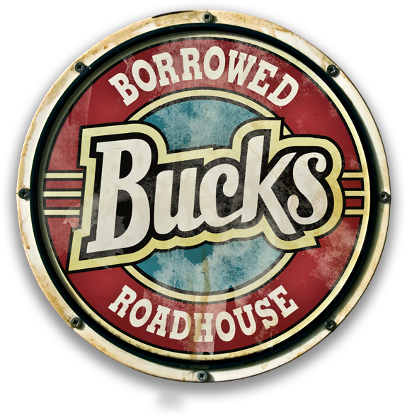 Borrowed Bucks Roadhouse logo