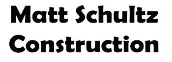 Matt Schultz Construction logo