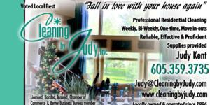 Cleaning by Judy, Inc.