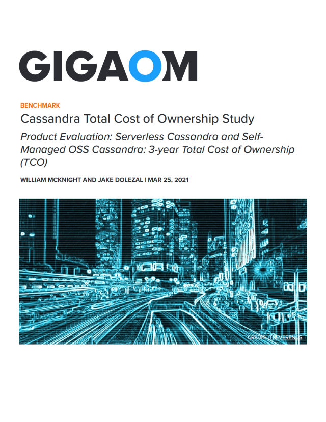 Cassandra Total Cost of Ownership Study