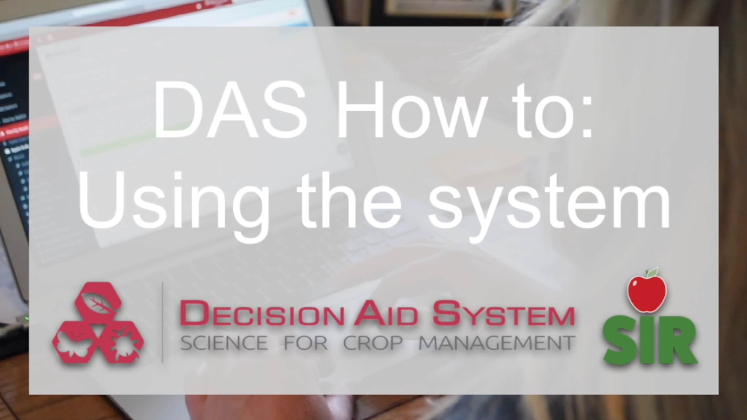 How to Use the BC DAS System