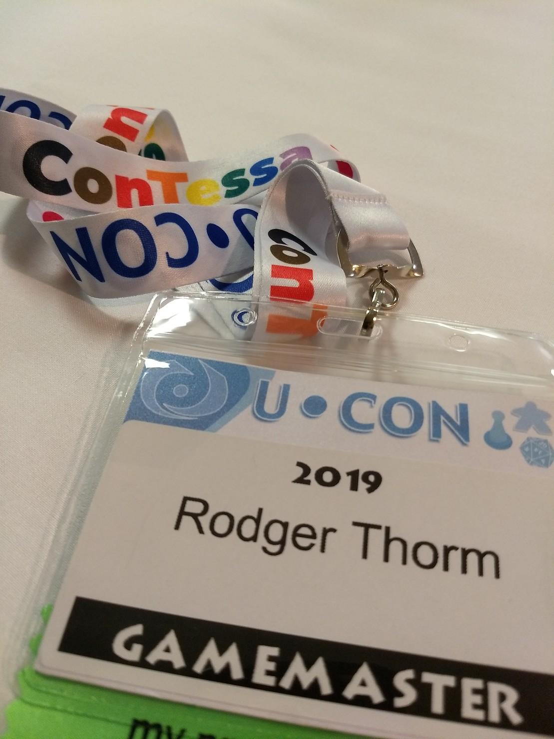 UCon badge