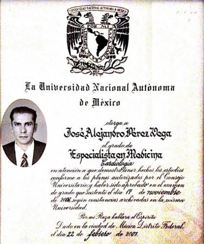 José Alejandro Pérez Vega