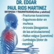 Dr. Edgar Paúl Ríos Martínez