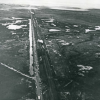 Train Wreck, Collision Aerial 1
