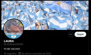 La docente es una activa militante de Alberto Fernández y Cristina en redes sociales